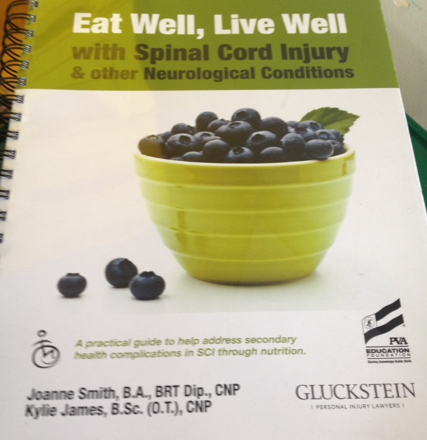 A practical guide addressing SCI health through nutrition
