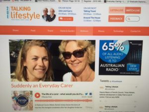 Suddenly an Everyday Carer - 2ue Talking Lifestyle