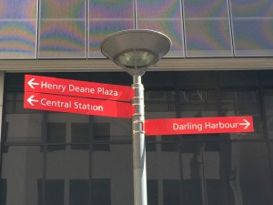 Central Station to Darling Harbour