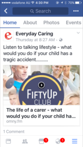 Everyday Caring referenced on Lovlist